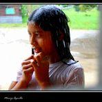La lluvia de la gran sabana