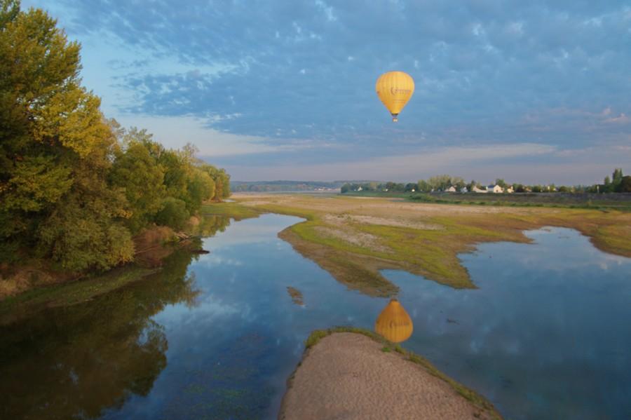 La Loire aux Rosiers sur Loire