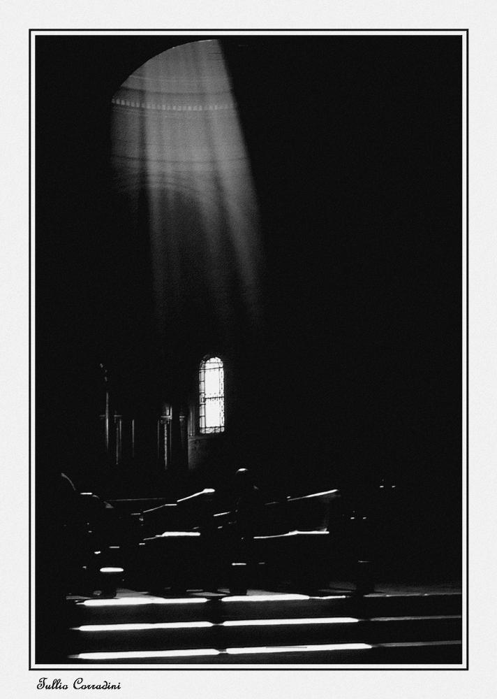 ..la luce della Fede!...versione B/n