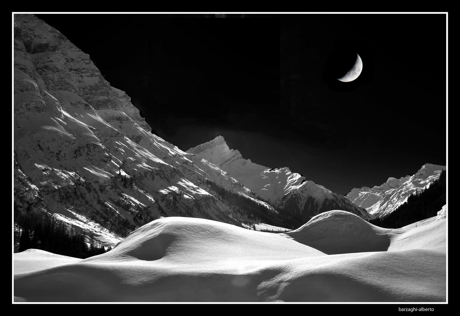 la luce della luna