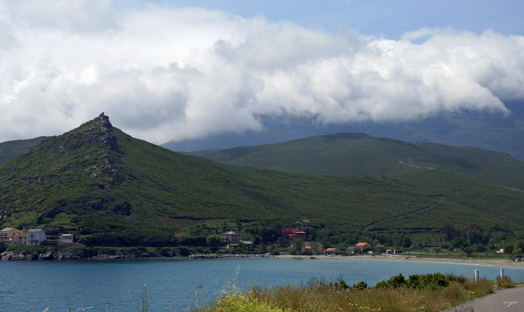 la lumière du Cap Corse