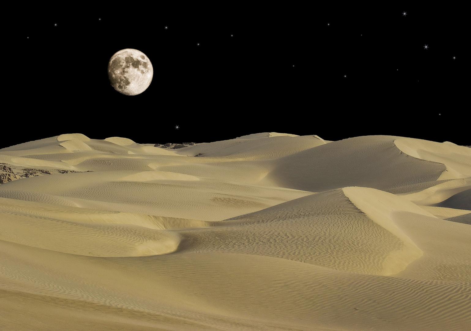 la luna............................