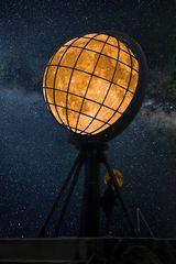 La lune d'Elise au Cap Nord