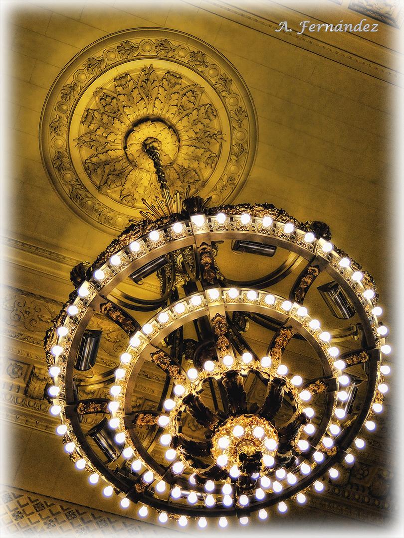 La luz de la Gran Central.