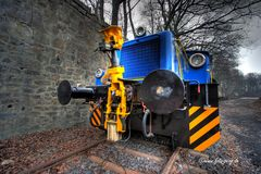 La machine bleue