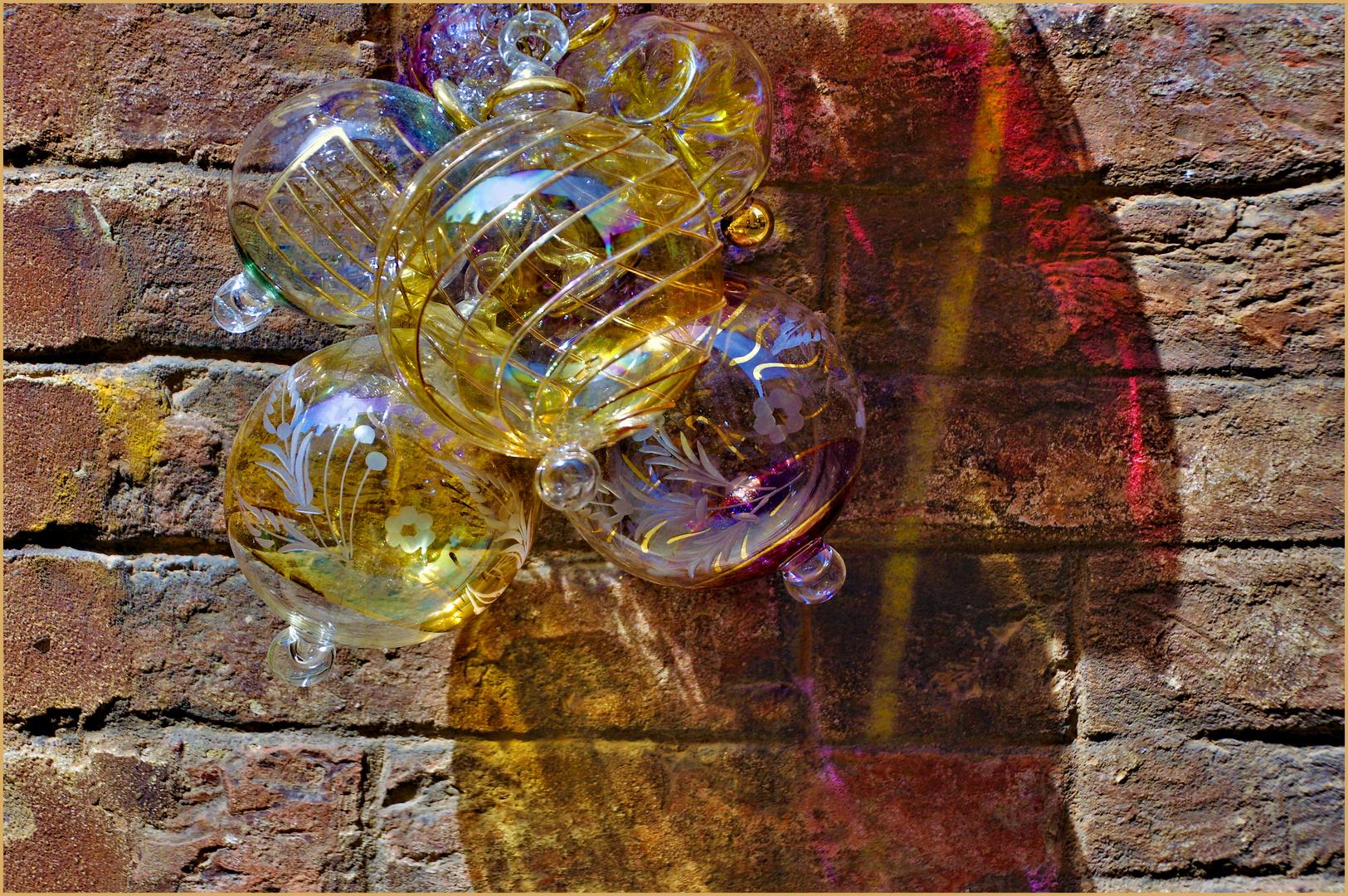 la magie des boules de cristal....