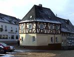 La maison Obertorstraße 2 à Runkel (Hesse, Allemagne) - Vue d'ensemble