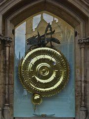 La Mangeuse de temps -- Corpus Clock, Cambridge