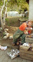 La marchande de coton d'Aspendos ....