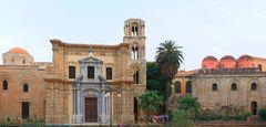 La Martorana und San Cataldo