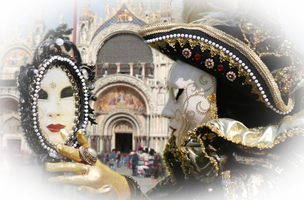 ~  la maschera di San Marco ~
