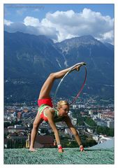 """La mejor gimnasta regionales representa Innsbruck."""