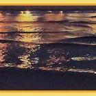 La mer a revêtu sa parure de nuit