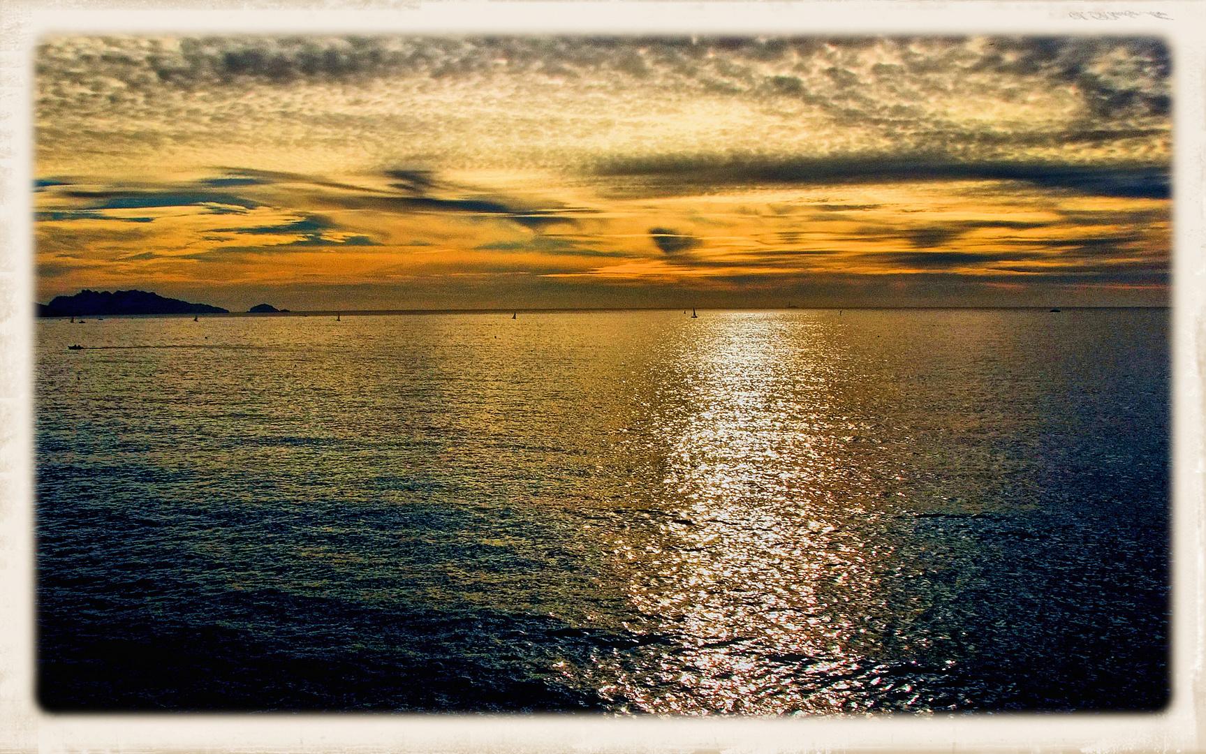 La mer en douce...