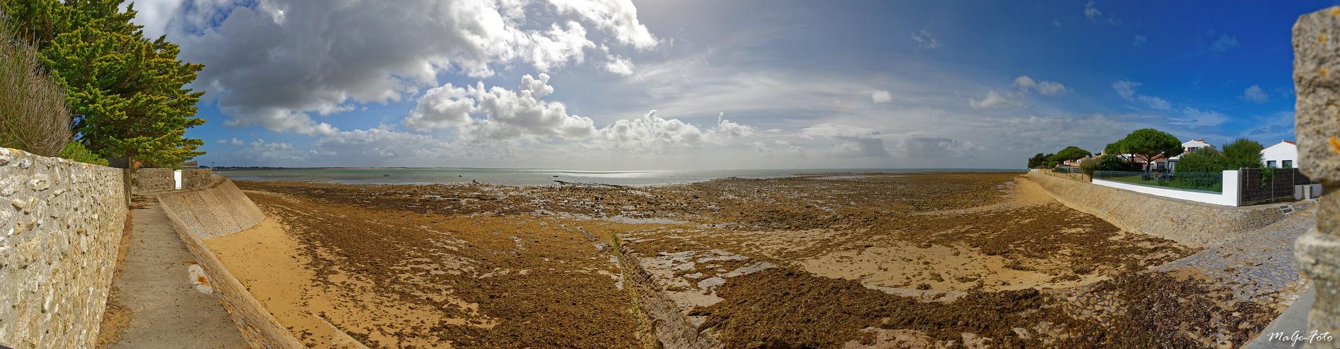 La mer pres de La Guérinière