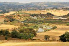 La meravigliosa campagna Toscana...