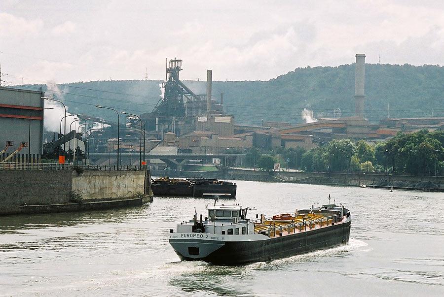 La Meuse à Ougrée