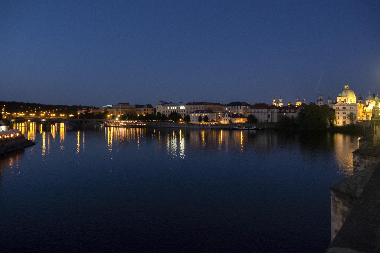 La Moldava dal Ponte Carlo