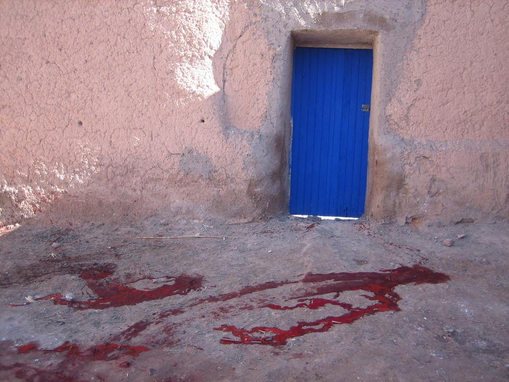 La mort derriere la porte