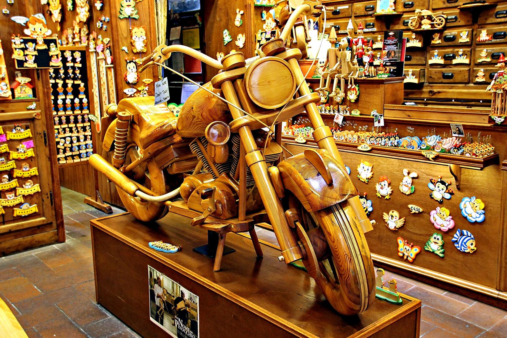 la moto de Pinocchio ?