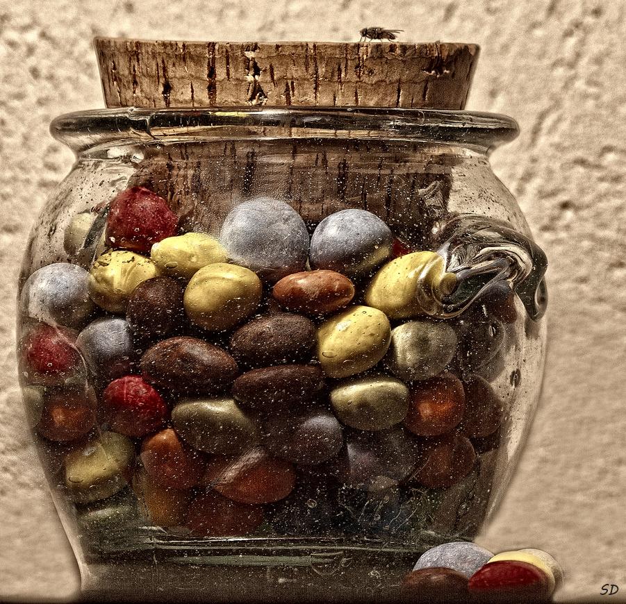 La mouche et les bonbons