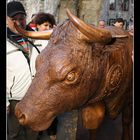 La mucca di legno