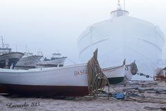 La nave fantasma.