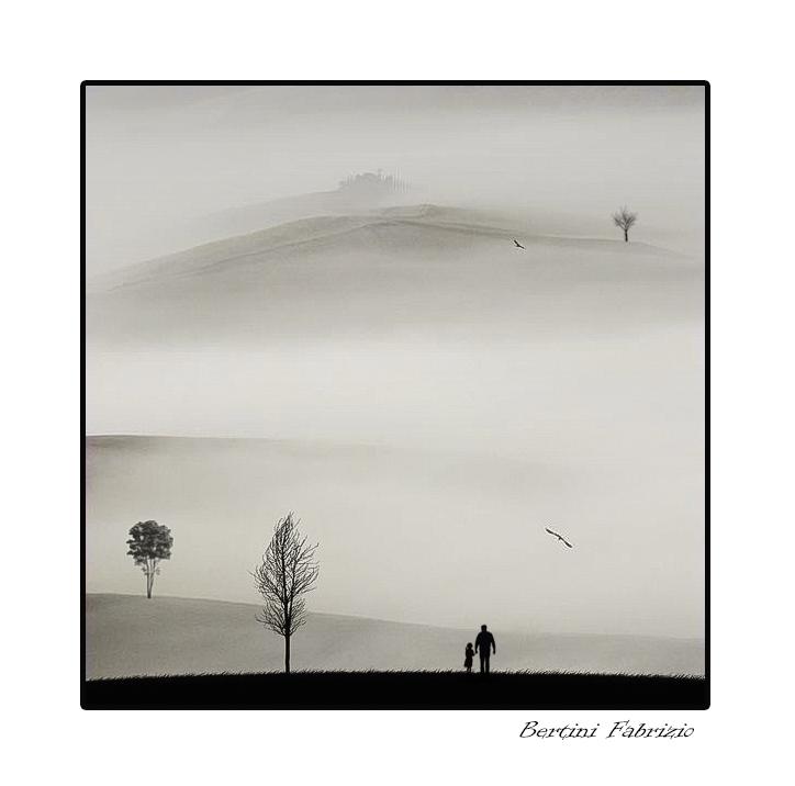 la nebbia agli irti colli