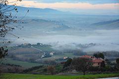 La nebbia avanza