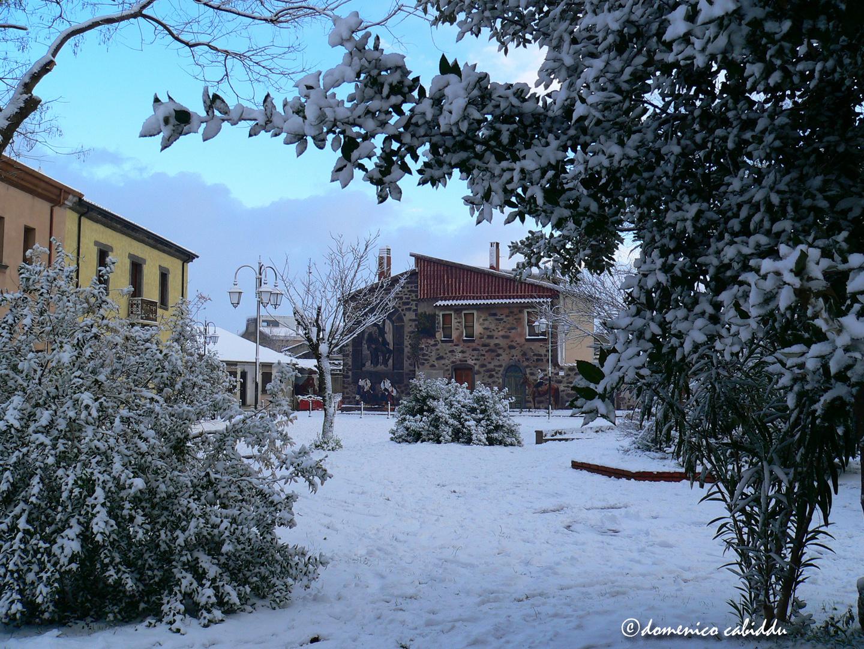 la nevicata dell'11 febbraio 2012