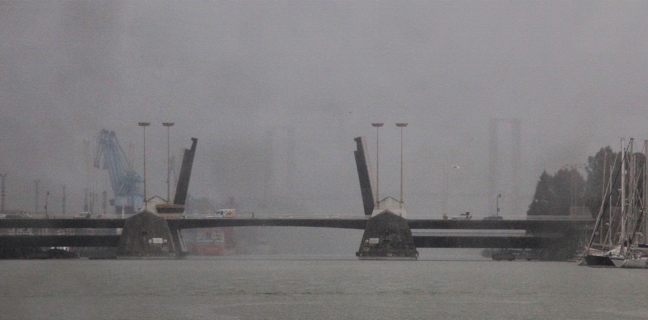 La niebla y el río.