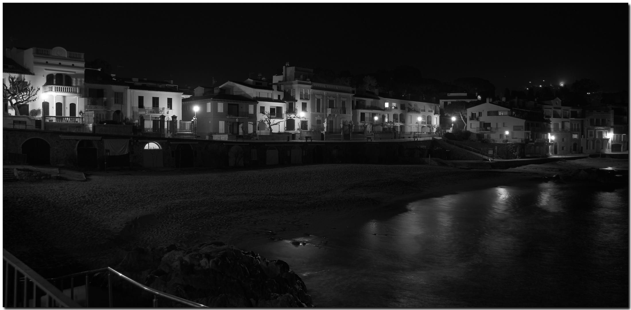 La nit a Calella