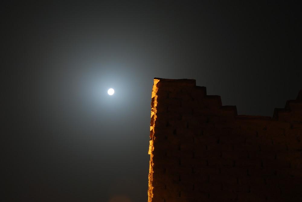 la noche en Marruecos