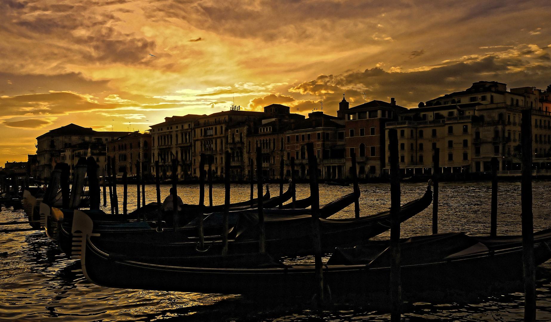 La notte splende a venezia