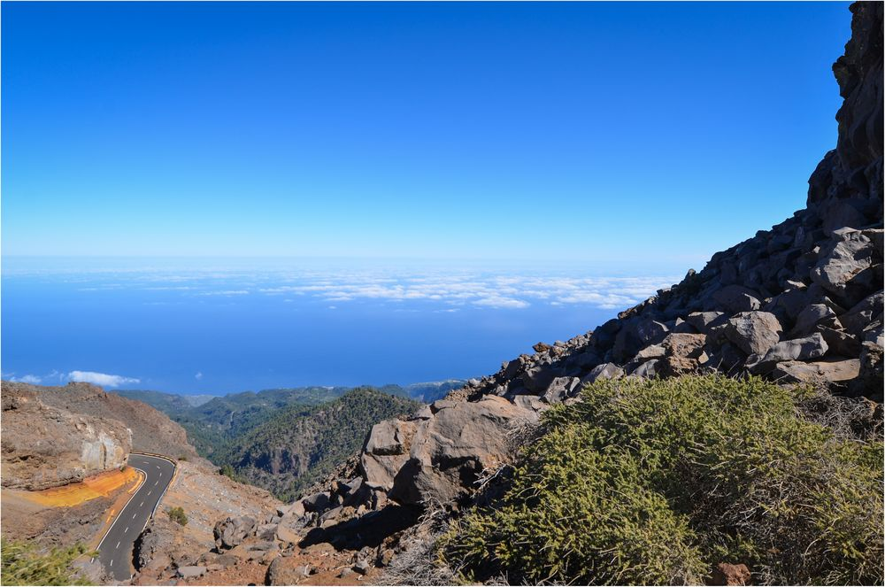 La Palma 2015 - Nr. 5 - Blick vom Roque de los Muchachos