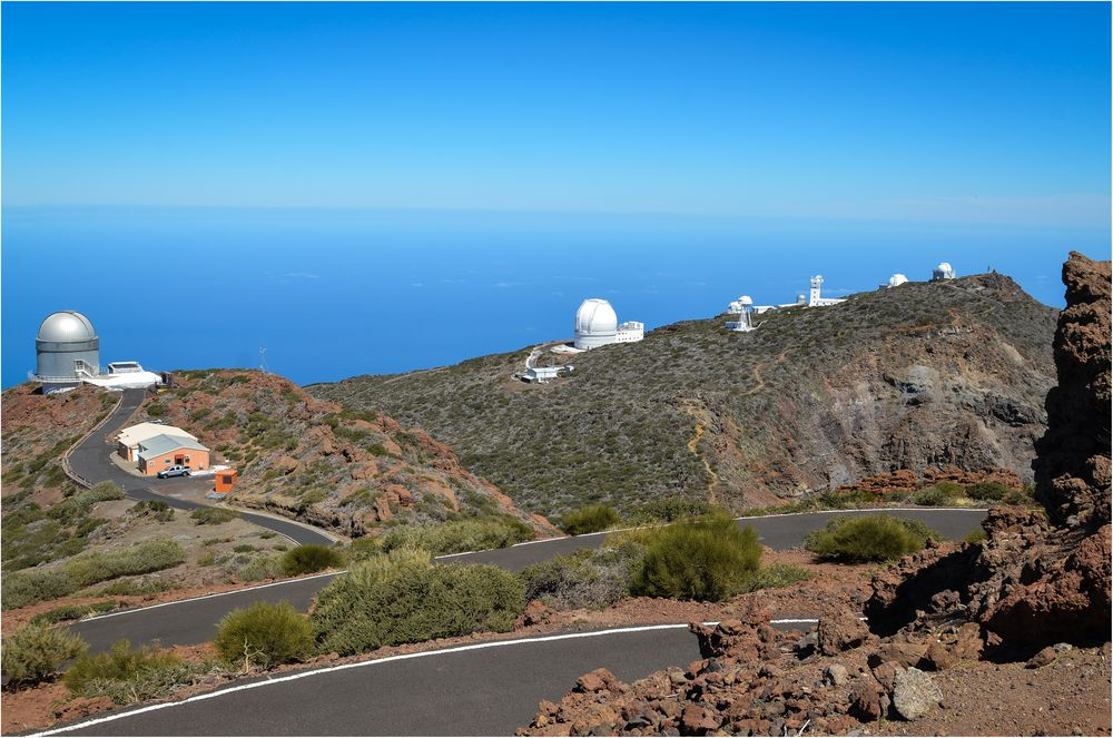 La Palma 2015 - Nr. 7 - Observatorium Roque de los Muchachos