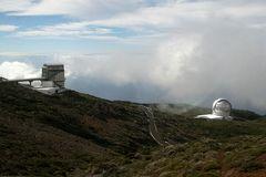 La Palma: Das Teleskop der Italiener...