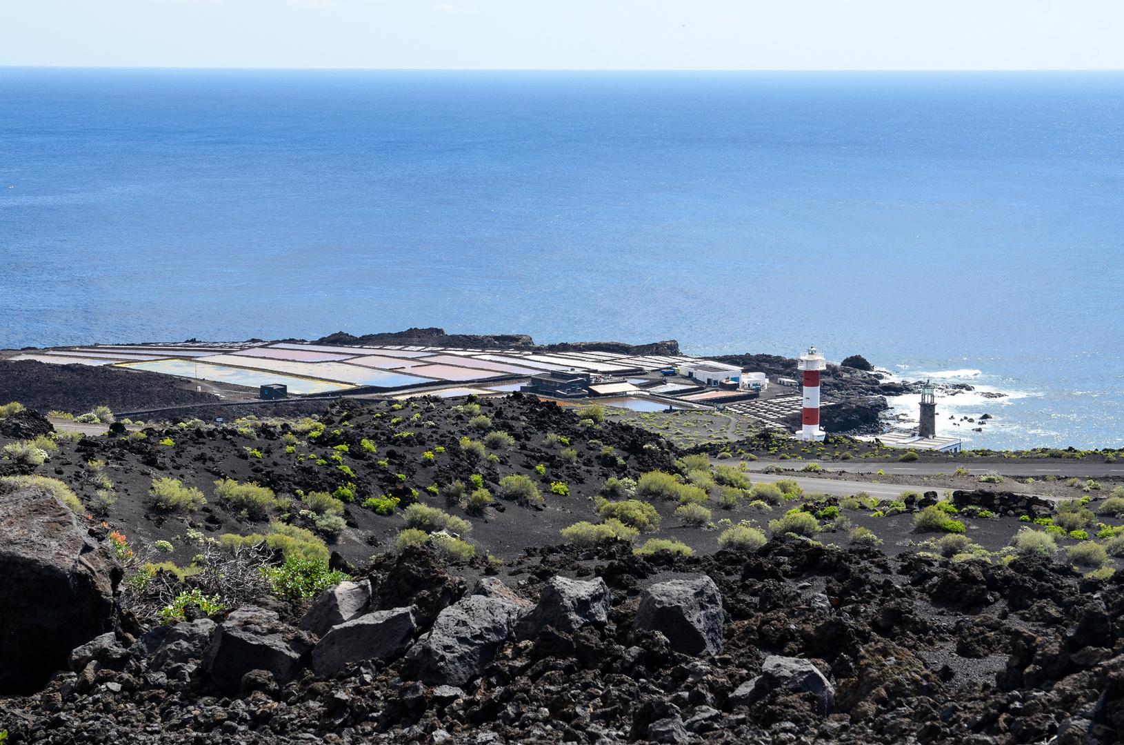 La Palma - Impressionen - Salinen im Süden - Nr. 16