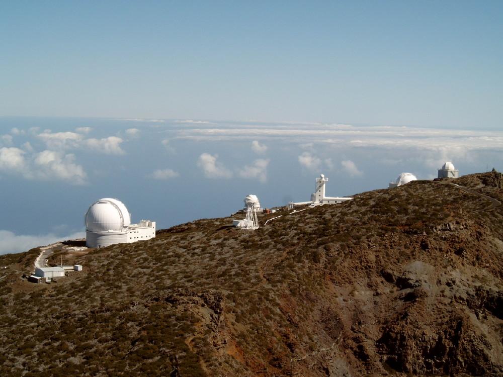 La Palma - Roque-de-los-Muchachos-Observatorium