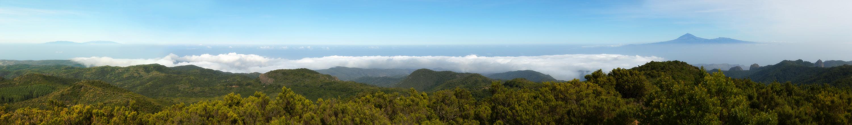 La Palma und Teide, La Gomera