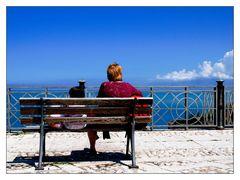 La panchina e il mare