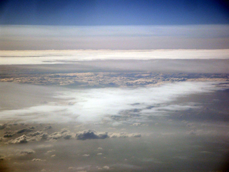 La parte alta delle nuvole