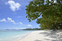 La Passe, Silhouette, Seychellen Hilton Labriz Resort