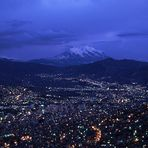 La Paz bei Dämmerung