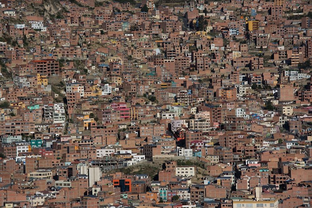 La Paz - Detail