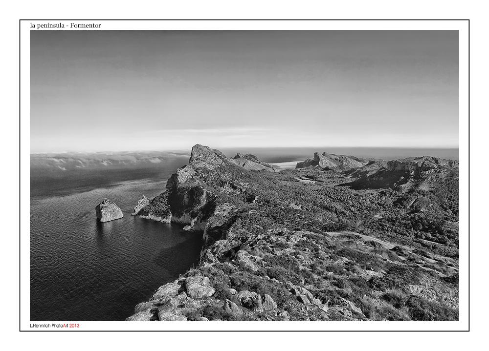 la península Formentor