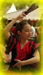 La petite danseuse de Flamenco ...