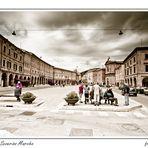 La Piazza di San Severino Marche