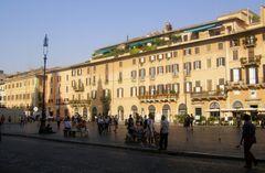La Piazza Navona (Rome - Italie)