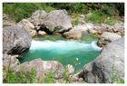 La piccola lagunetta di montagna